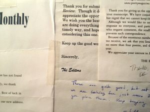 Literary Magazine Rejection Letters
