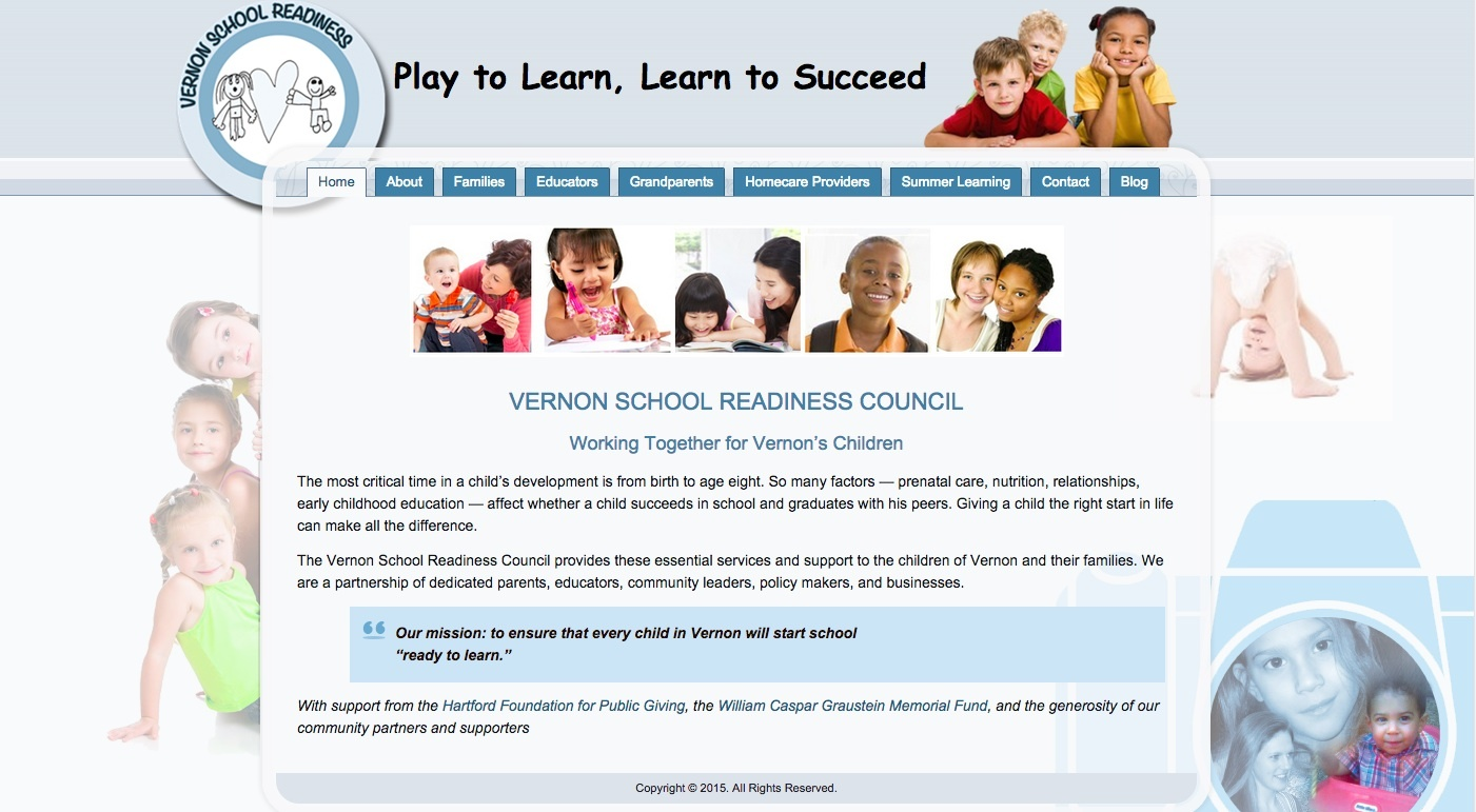 Vernon School Readiness Council