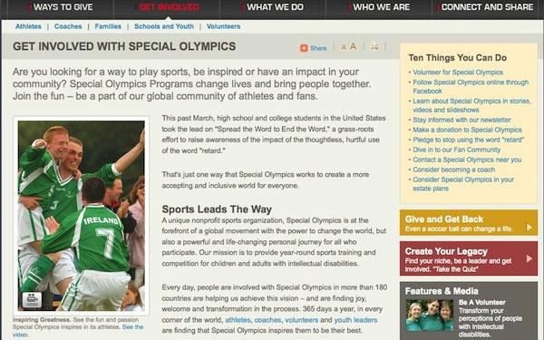 Website Copy: Nonprofit/Fundraising