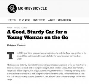 Good Sturdy Car - Story - Monkeybicycle